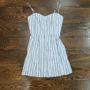 Kimchi Blue Striped Dress Blue and White Dress 6